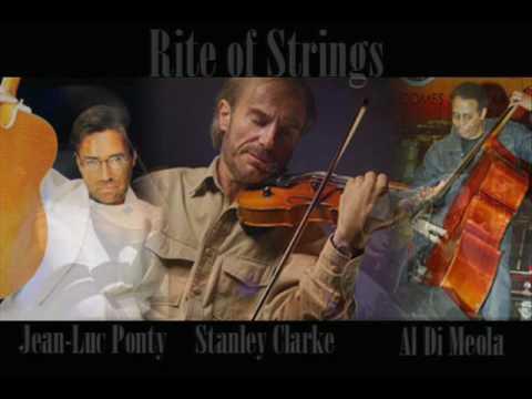 Stanley Clarke , Al DiMeola  , Jean-Luc Ponty  / The Rite Of Strings  /  - Indigo