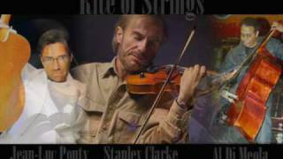 Stanley Clarke , Al DiMeola  , Jean-Luc Ponty  / The Rite Of Strings  /  - Indigo