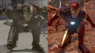 Recreating Ironman MCU Moves | Marvel's Avengers game
