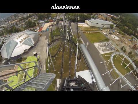 Roller Coaster manège les plus extrême sensation  .. mettre votre ceinture et accrochez vous .