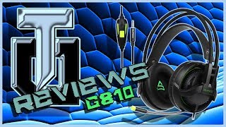 TEST / REVIEW : CASQUE GAMING SUPSOO G810