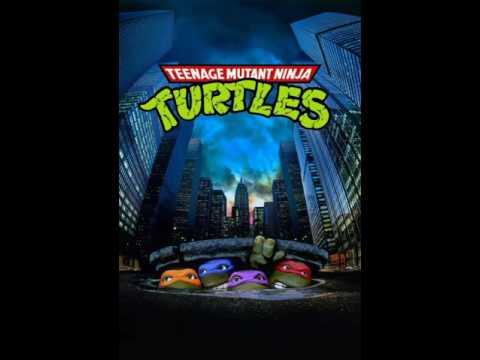 Teenage Mutant Ninja Turtles Soundtrack 5) Turtle Power! w/Lyrics