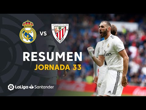 Resumen de Real Madrid vs Athletic Club (3-0)