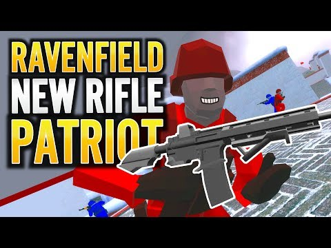 RAVENFIELD NEW RIFLE PATRIOT BETA 6 SECRET WEAPON | Early Access EA1