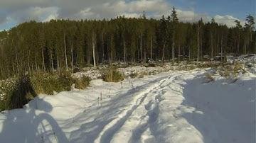 Lehmijärvi - Salo läskipyörällä helmikuussa 2016