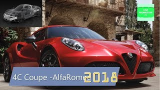 2018 Alfa Romeo 4C Coupe with Performance is Attractive-Supercar DNA