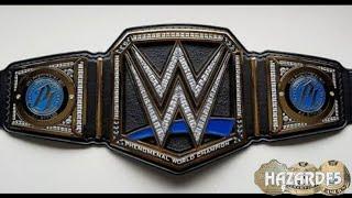 جديد سماكدوون / AJ Styles WWE لقب بطولة العالم طبق الاصل حزام Releathered و Restoned مراجعة!