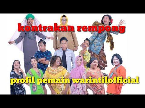 Profil Lengkap Para Pemain Warintil Official  || Kontrakan Rempong Suka Jalan