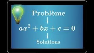 vuclip Résoudre un problème à l'aide d'équation du second degré - première S ES STI