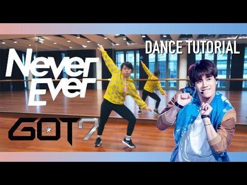 "GOT7 ""Never Ever"" Dance Tutorial | Full w Mirror [Charissahoo]"