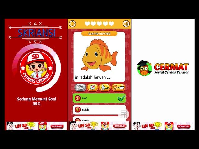 100 Soal Cerdas Cermat Bahasa Indonesia SD Kelas 1 level 2