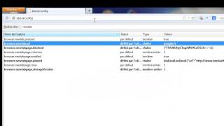 Modifier l'adresse d'ouverture d'un nouvel onglet dans Firefox