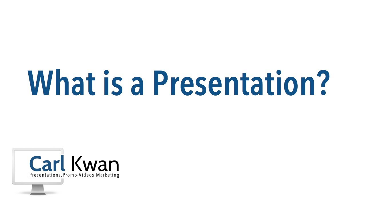What is a presentation 63