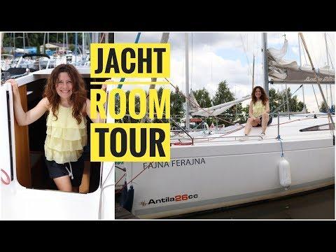 Jacht od środka - room tour, jak wygląda żaglówka pod pokładem