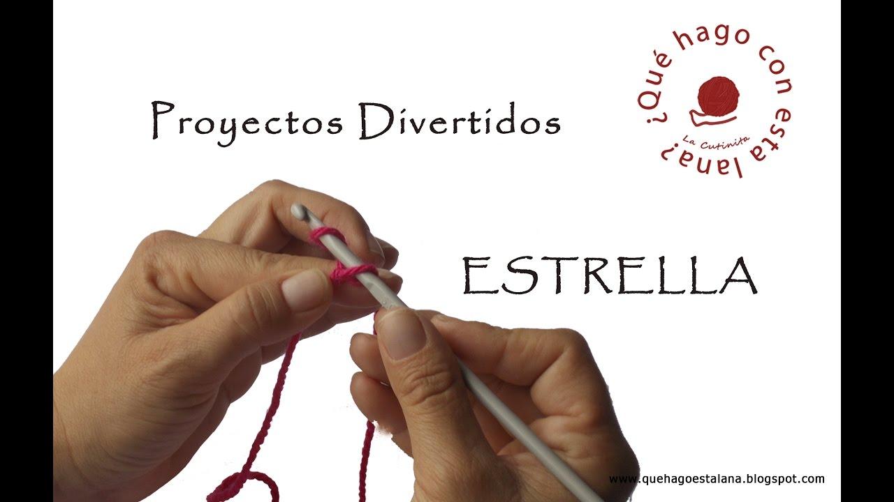 Cómo hacer una estrella a ganchillo o Crochet. - YouTube