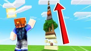 ZNALAZŁEM SIĘ NA NAJWYŻSZEJ WIEŻY w Minecraft!