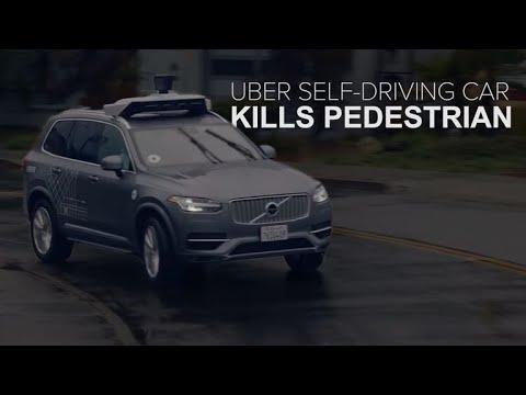 Uber selfdriving car kills a pedestrian CNET News