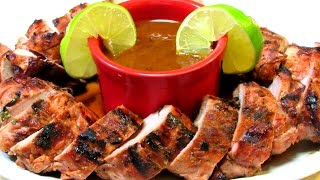 Tequila Lime Pork Tenderloin Recipe
