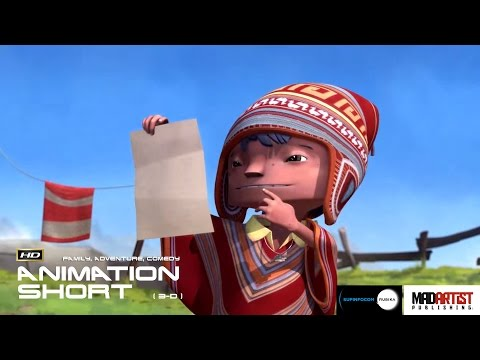 "CGI 3D Animated Short Film ""MACHU PICHU"" Interesting Animation by Supinfocom"