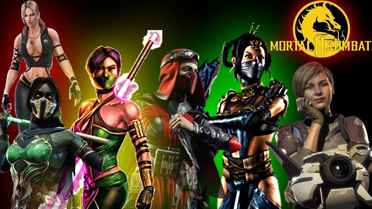 Mortal Kombat 11 All Female Fatalities Youtube