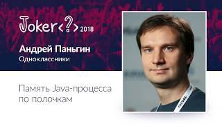 Андрей Паньгин — Память Java процесса по полочкам