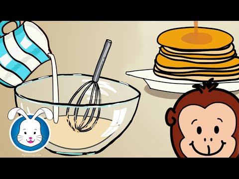 Pancake Recipe Easy, Pat A Cake Song & More Nursery Rhymes