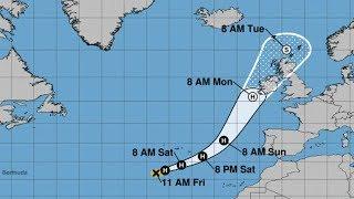 HURRICANE OPHELIA UPDATE - Ireland Landfall - Storm Surge and Flooding
