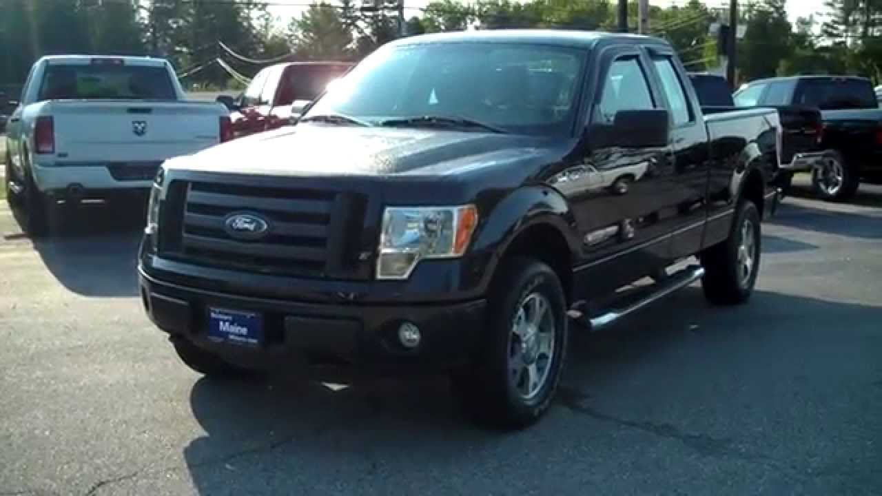 Best priced used 2010 ford f150 stx 4x4 truck stk t6983a for Southern maine motors saco maine