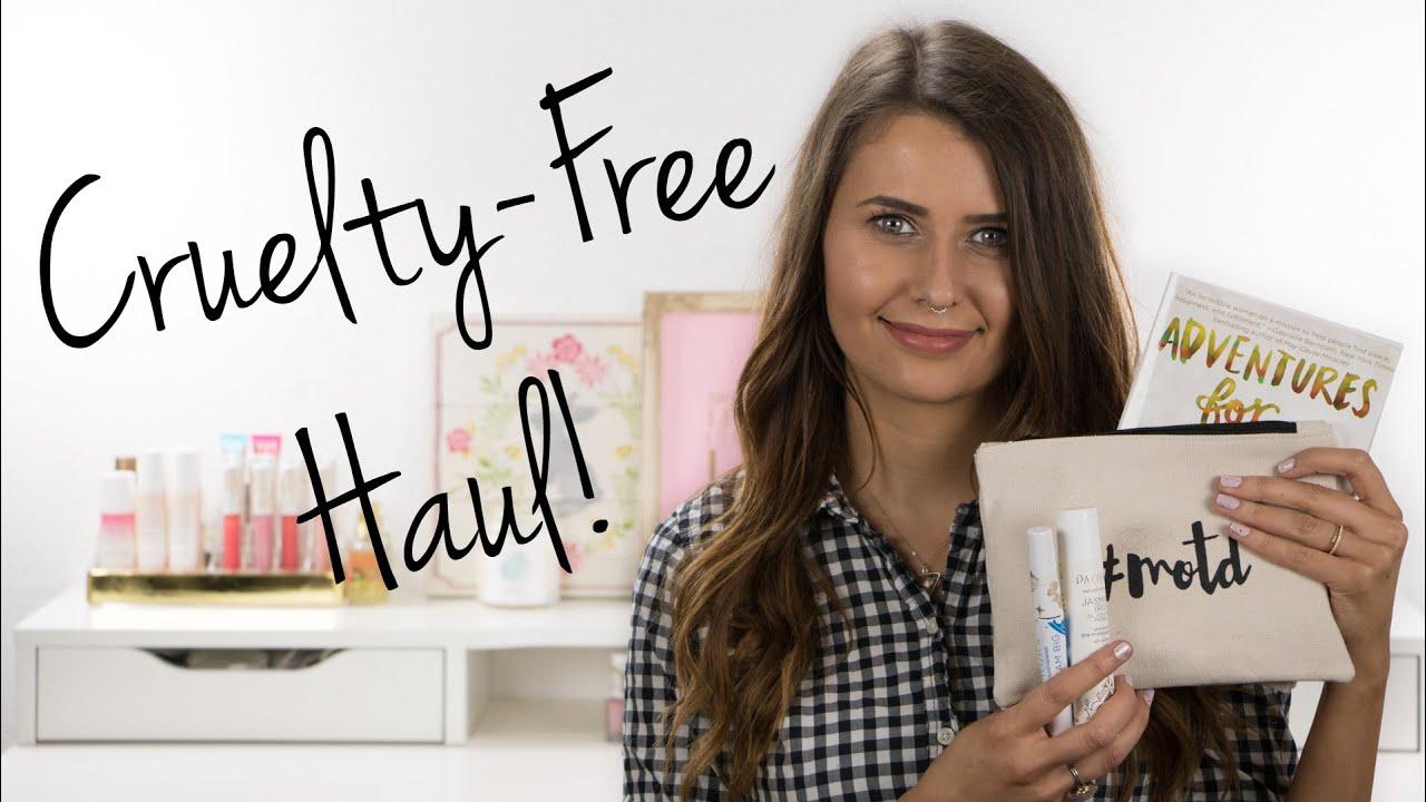 Cruelty-Free Haul (makeup, skin care, books!) - Logical Harmony