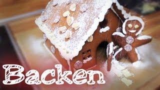 Lebkuchenhaus backen - Backen mit Freunden Thumbnail