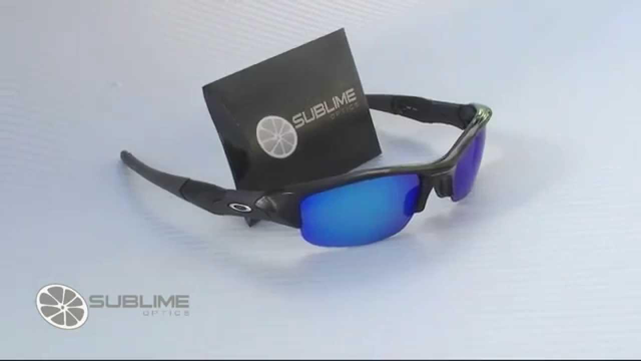 3fda5259e8 Sublime Optics FLAK JACKET Polarized ICE BLUE Replacement Lenses for Oakley