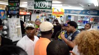 webbie comes to show support for alton sterling
