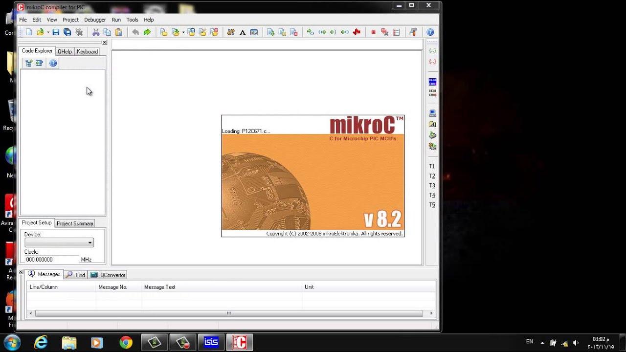 Pic Programming Simulation Using Mikroc Proteus Isis Circuit In Design Servo Motor