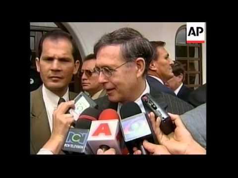 COLOMBIA: BOGOTA: REACTION TO BOMB BLAST