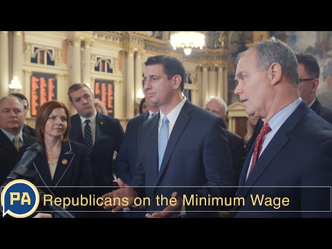 Pa. Republican leaders on minimum wage and job growth