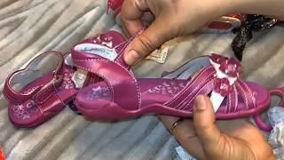 Обзор посылки с детскими сандалями и босоножками