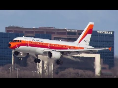 PSA / U.S. Airways / American Airlines Retro / Heritage Live