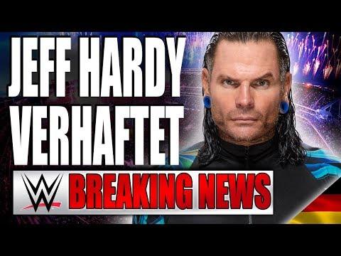Jeff Hardy verhaftet! | WWE BREAKING NEWS