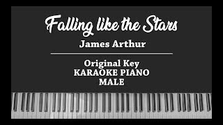 Falling like the Stars (PIANO INSTRUMENTAL KARAOKE) James Arthur