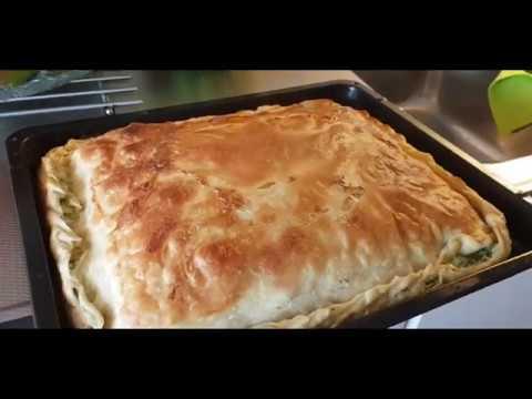 Pite mit Spinat, lecker und einfach, Brek, albanische Spezialitt! Von Albanerin zubereitet!