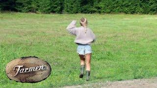 Farmen-Andrea rømmer til skogs i ren fortvilelse