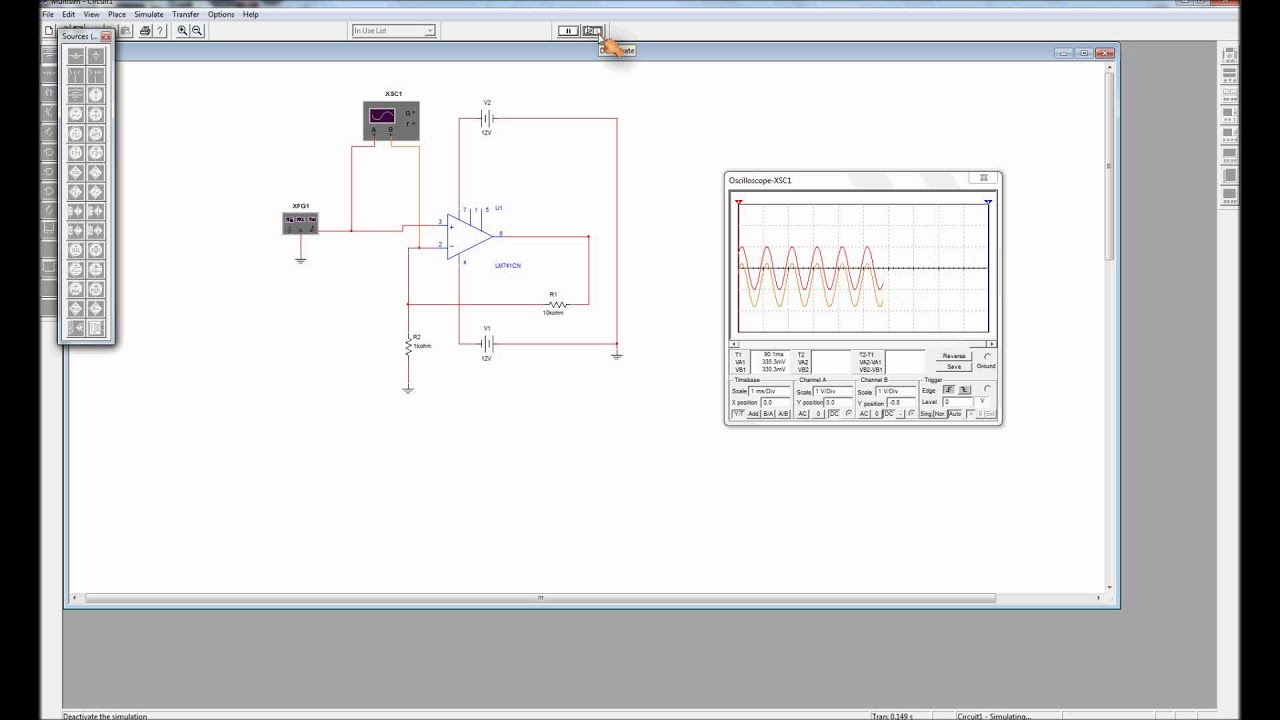circuit diagram of non inverting amplifier led flasher wiring analysis wmv youtube