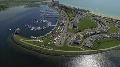 Fehmarn Burgtiefe Jachthafen 4k