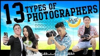 13 Types of Photographers