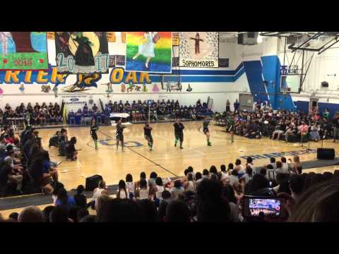 Charter Oak High School: Advanced Dance Homecoming Rally Performance 2015