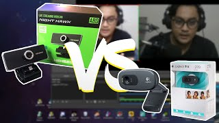 Webcam untuk Pemula - Mana yang terbaik NYK A80 atau Logitech C270 HD