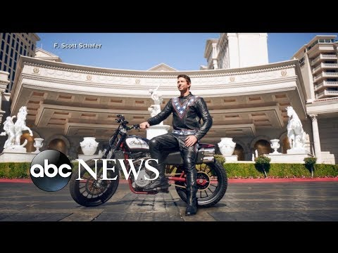 Motorsports icon Travis Pastrana attempts historic jump in Las Vegas
