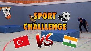 INDER VS. TÜRKE - SPORT CHALLENGE !!