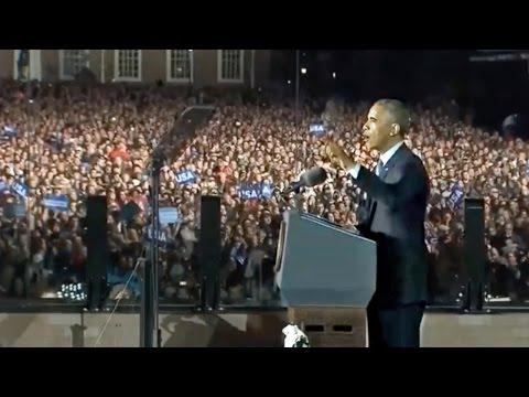 Emotional Obama on Election Eve:
