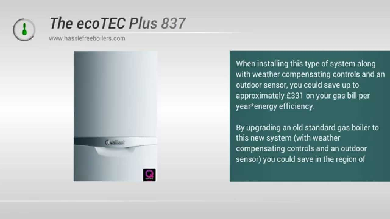 Vaillaint plus 837 37kw Combi Boiler Review and Information - YouTube